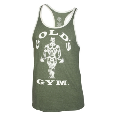 Stringer-Tank-Top-von-Golds-Gym-Muscle-Joe-army-cream