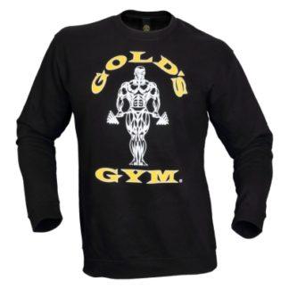 Golds Gym Mens Muscle Joe Tri Blend Hoodie Black