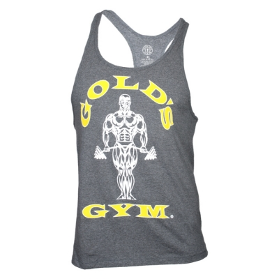 Tank-Top-von-Golds-Gym-Classic-Stringer-grey