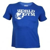 T-Shirt-von-World-Gym-blue