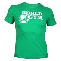 T-Shirt-von-World-Gym-green