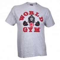 T-Shirt-von-World-Gym-grey