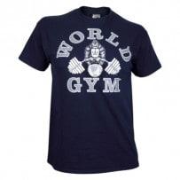 T-Shirt-von-World-Gym-navy