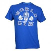 T-Shirt-von-World-Gym-royal