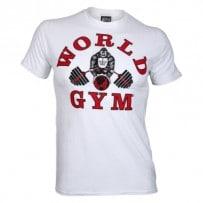 T-Shirt-von-World-Gym-white