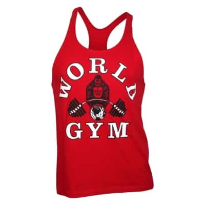 776178cb59eed World Gym Classic Stringer Tank Top red – BodyBeautifulApparel.com