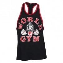 Tank-Top-von-World-Gym-Vintage-Stringer-black