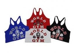 World Gym clothing