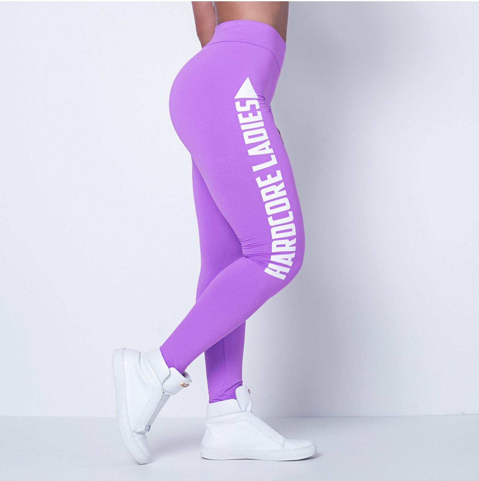 fa8914d19 Labellamafia Leggings Hardcoreladies Purple – BodyBeautifulApparel.com