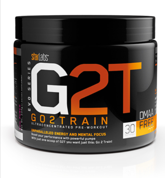 G2T GO2TRAIN XT Ultraconcentrated Pre-workout